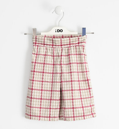 iDO - Warm suede-effect trousers
