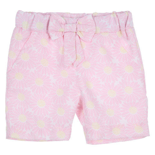 GYMP - Light Pink & Yellow Shorts