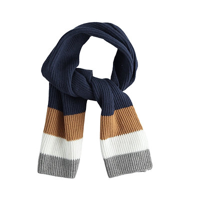 iDO - Tricot scarf with bands
