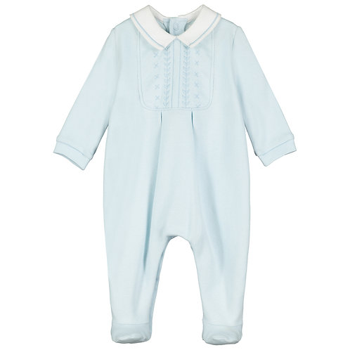 Malcolm - Interlock AIO with feet, embroidered yoke & Hat