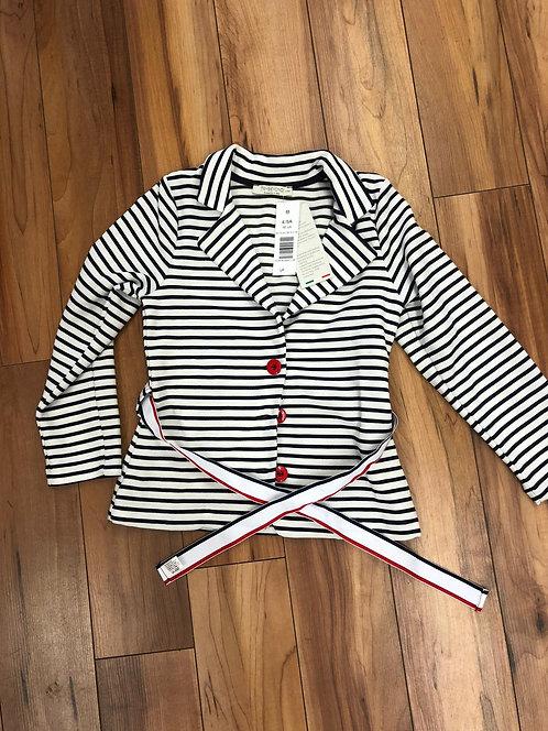 Trybeond - Navy Strip Jacket