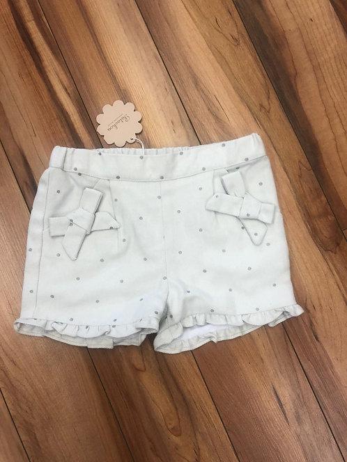 Patachou - Woven Wool Mint Green Shorts