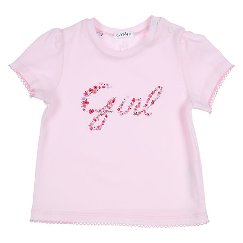 """GYMP -  Light Pink T-Shirt """"GIRLS IN FLOWERS"""""""