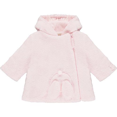 Aurora- Deep pile fleece Jacket with 3D bunny & Hood
