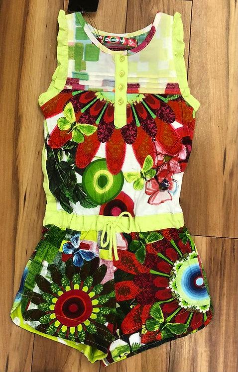 Desigual - Multicolour Short Jumpsuit