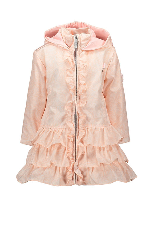 """Le Chic - Baby Pink Coat """"Field of roses"""""""