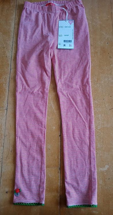 Mimpi Pink Stripe Leggings
