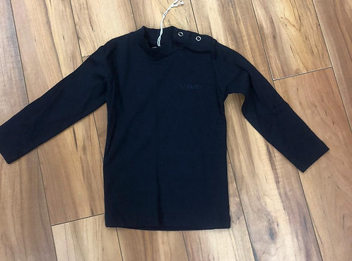 Melby - Navy Long Sleeve Top