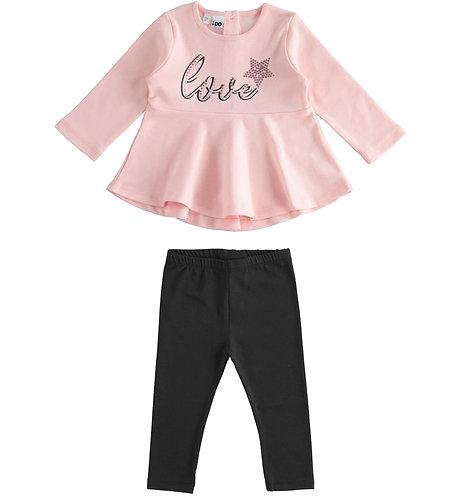 iDO - Pink Long Sleeved Set