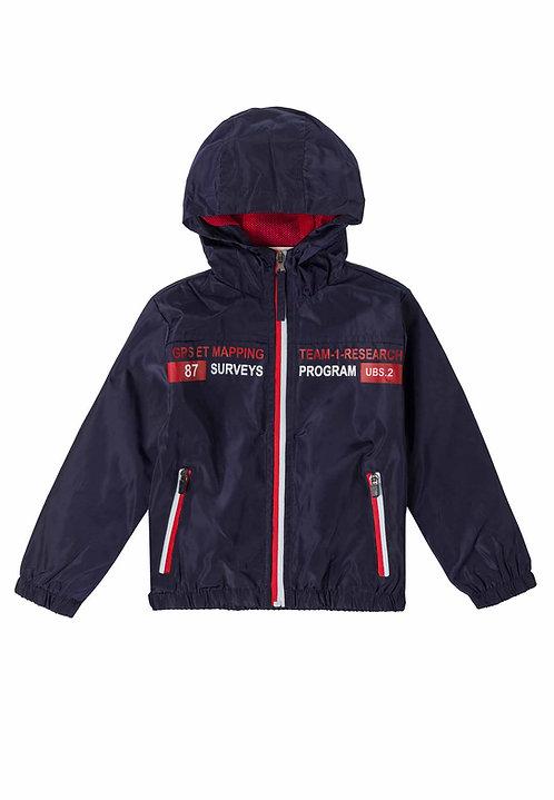 UBS2 -  Navy Jacket with Hood