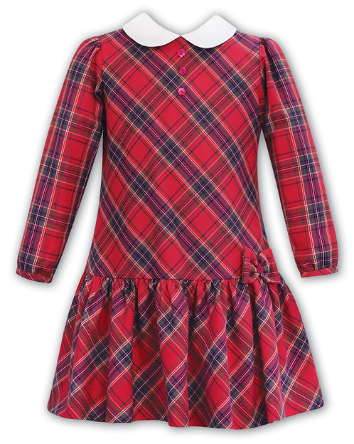 Sarah Louise - Tartan Print Dress