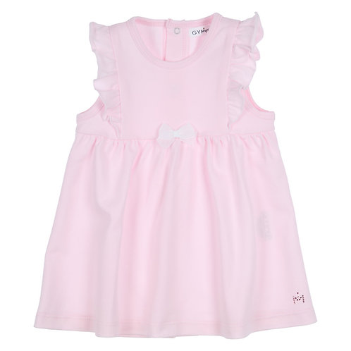 GYMP - Light Pink Pinafore with flounces