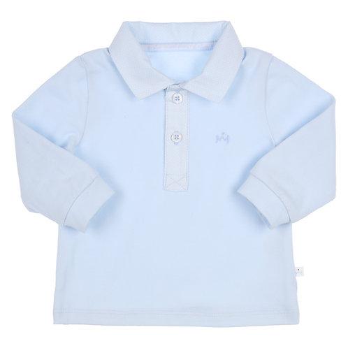 GYMP -  Light Blue Polo