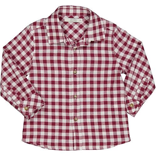 Birba -Red Check Shirt