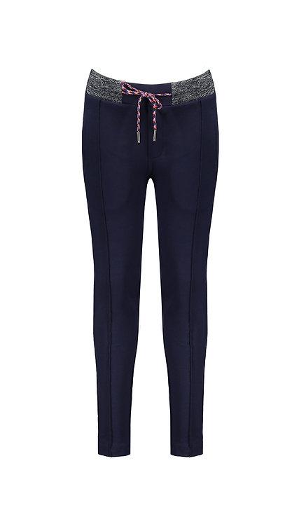 NoNo - Secler Navy Pants with pintucks