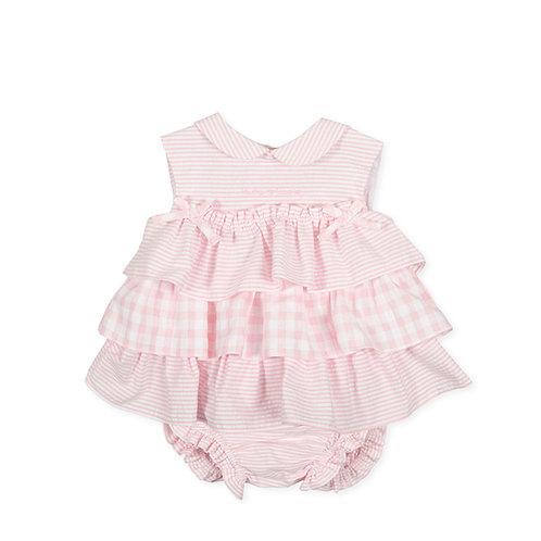 Tutto Piccolo - P.Bamba Pink Dress & Briefs