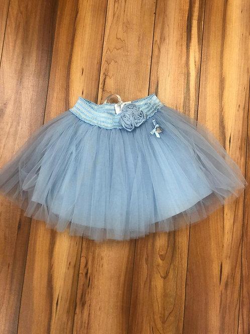 Le Chic - Sky Blue Tully Skirt