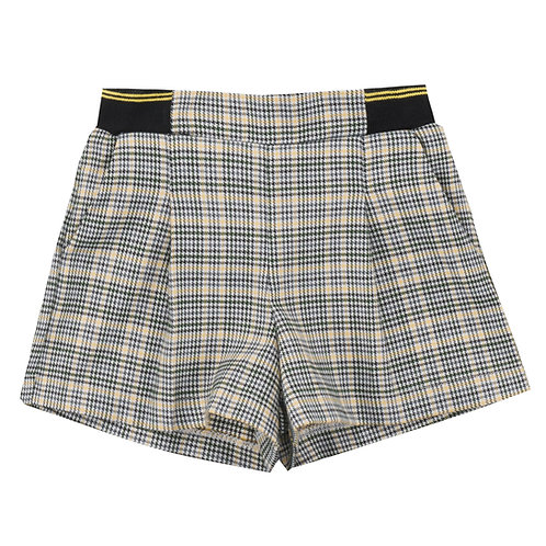 UBS2 Check Print Shorts