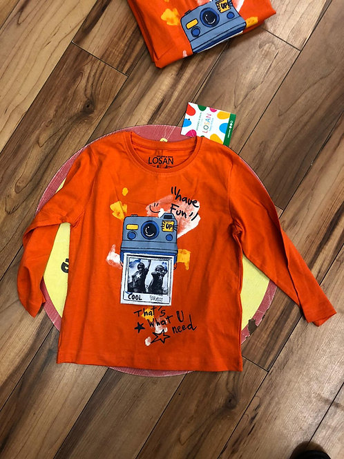 Losan - Orange Top
