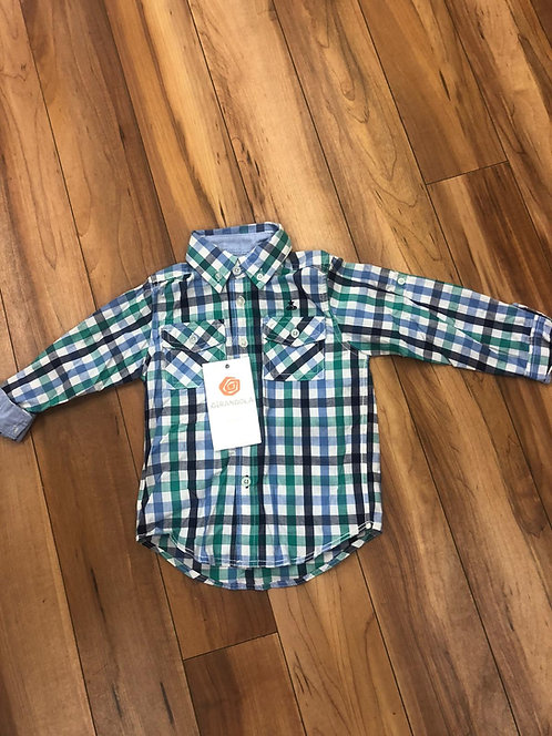 Girandola - Green Check Shirt