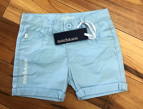 Mitch & Son - Scott Sky Blue Shorts