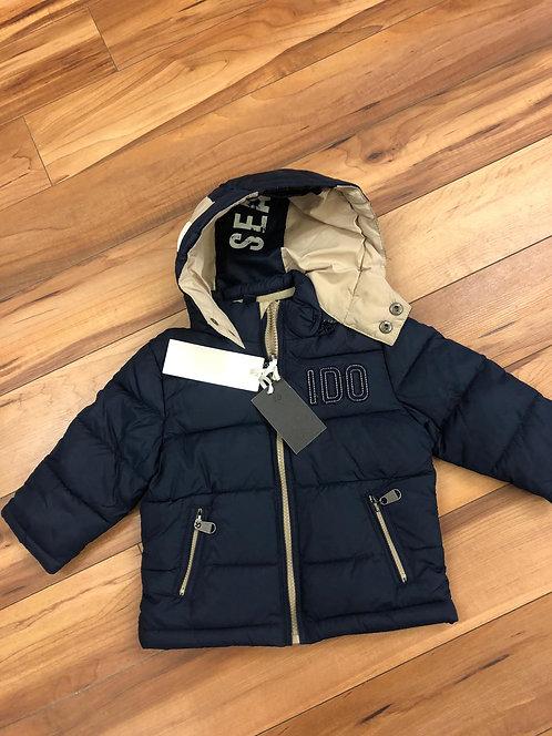 iDO- Navy Jacket with Hood