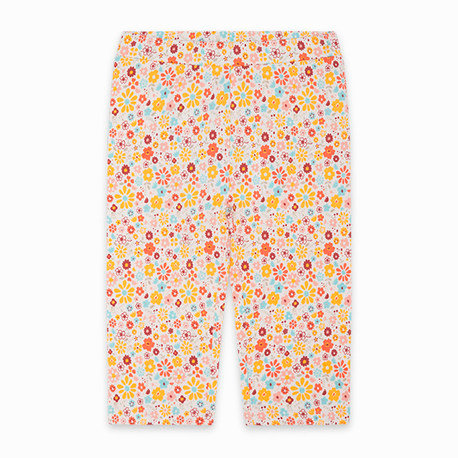 Tuc Tuc - Yellow Flowers Capri Leggings