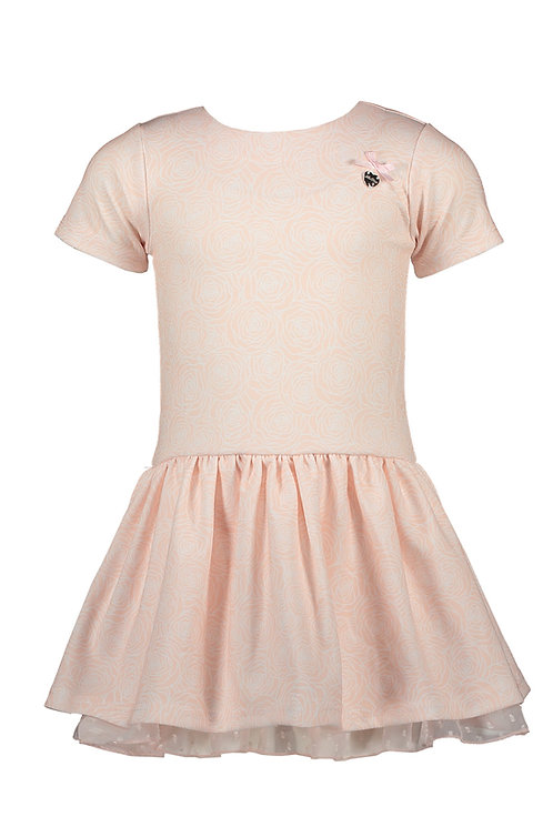 Le Chic - Pink Dress 'Field of Roses'