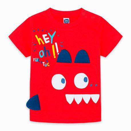 Tuc Tuc - Red Pocket& ear T-Shirt