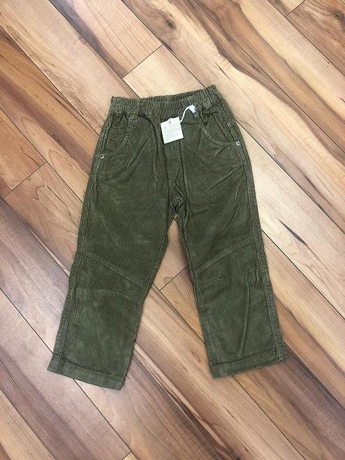 Mel You - Green Cord Pants