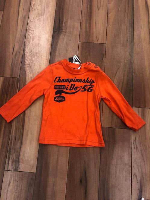 iDO - Orange Long Sleeve Top