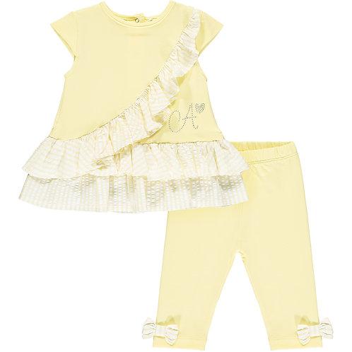 Little A - Katie Seersucker legging set
