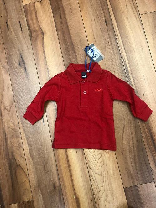 iDO - Red Polo Shirt