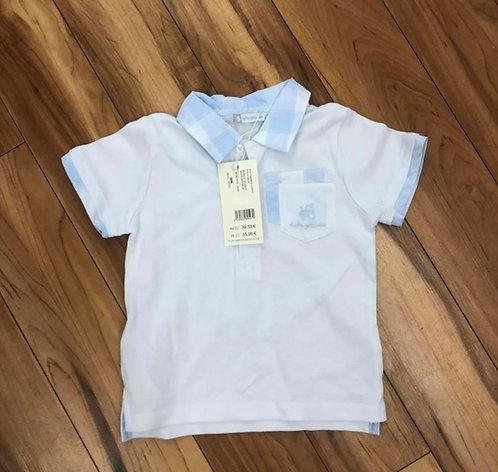 Tutto Piccolo - Blue and White T-Shirt