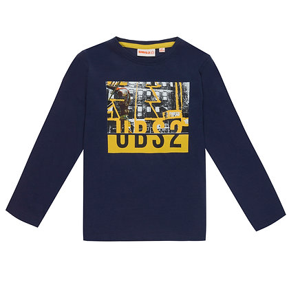 UBS2 -Boys Navy Long-Sleeve T-Shirt