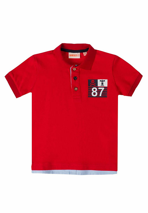 UBS2 - Red Polo Shirt