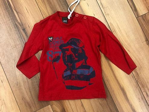 iDO - Red Long Sleeve Top