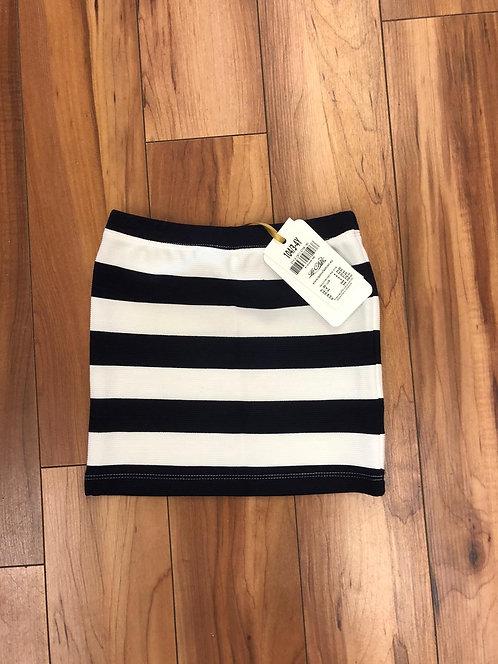 Le Chic - Navy Stripe Skirt
