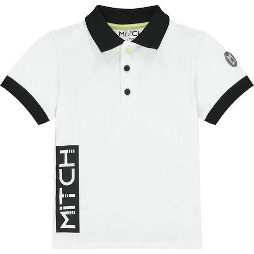 Mitch - Ohio WhitePolo Shirt