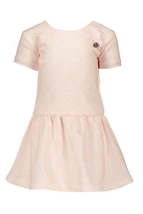"""Le Chic - Baby Pink Dress """"Field of Roses"""""""