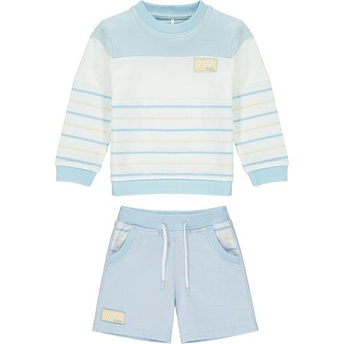Mitch & Son - Beltane Stripe Sweatshirt Set