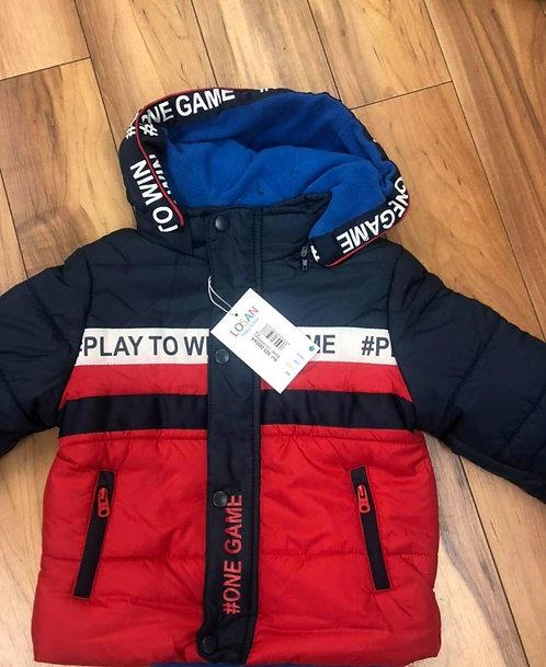 Losan - Red & Navy Padded Jacket