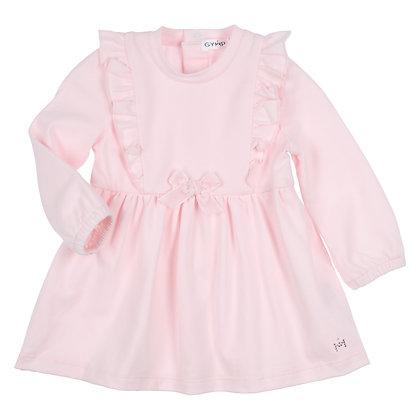 GYMP AERODOUX  - Light Pink Ruffle Dress