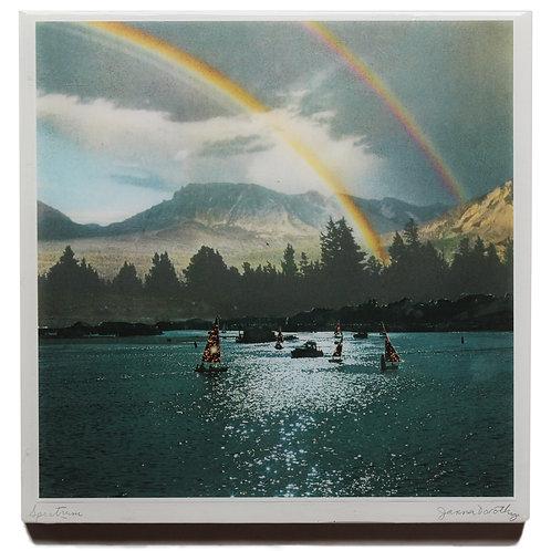 'Spectrum' resined print