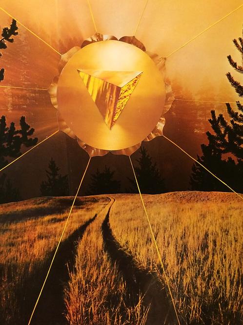 """'Solar Chakra'  17 x 22"""""""