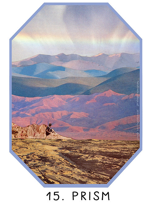 prism vinyl sticker