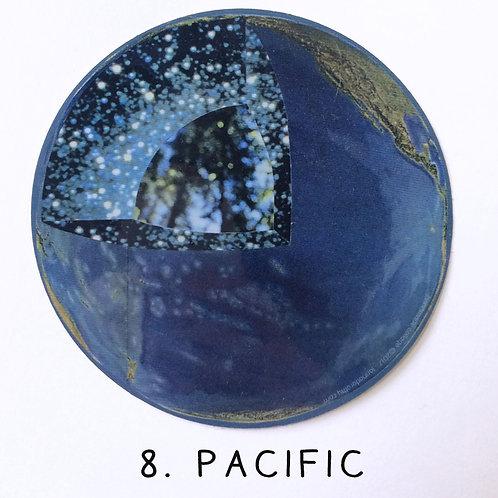 pacific vinyl sticker