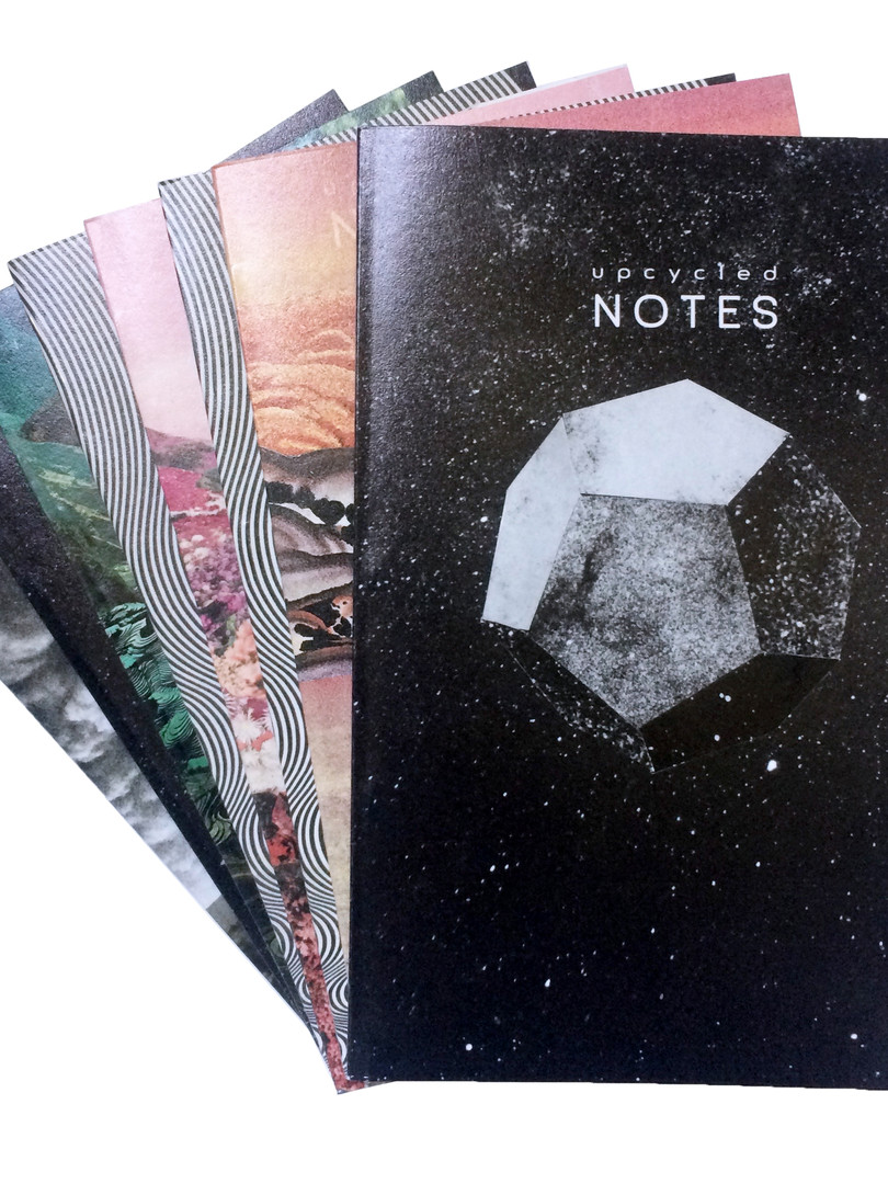 upcycled journals