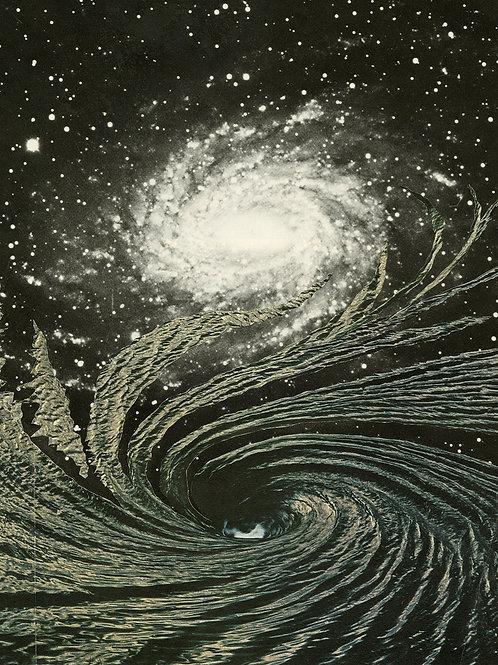 """'Spiral In Spiral Out'  17 x 22"""""""