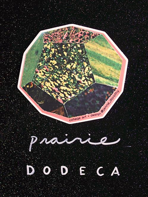 prairie dodeca vinyl sticker